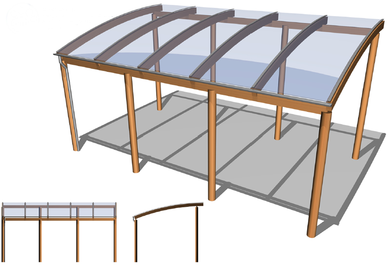 Timber / Wooden / Perspex Canopies  sc 1 st  Setter Shelters & Timber and Perspex Canopies - Setter Shelters UK